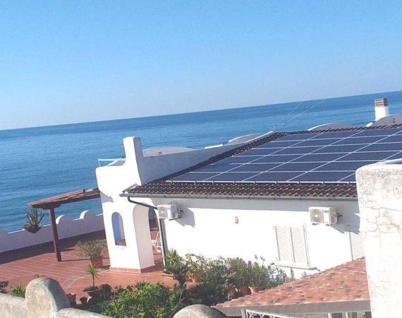 Impianto fotovoltaico al servizio Residence Elianto Anzio per soddisfare il fabbisogno energetico della struttura nel rispetto per l'ambiente