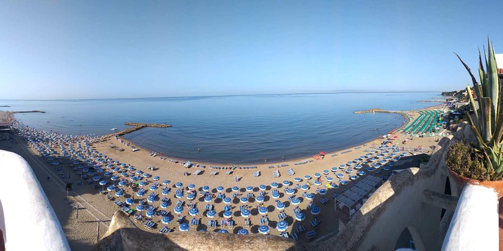 elianto anzio appartamenti fronte mare spiaggia webcam-Anzio Spiaggia di Tor Caldara e cincinnato
